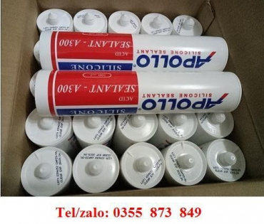 KEO SILICONE APOLLO A300 MÀU TRONG SUỐT GIÁ RẺ